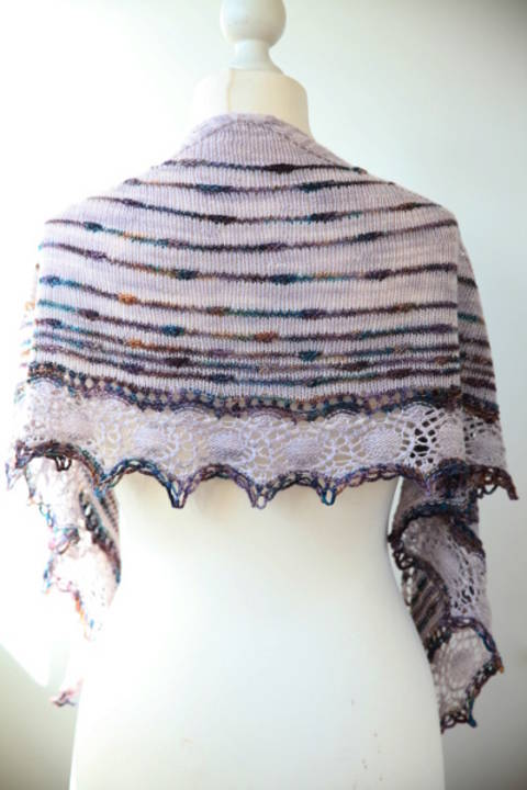 Turbulences Shawl - Knitting
