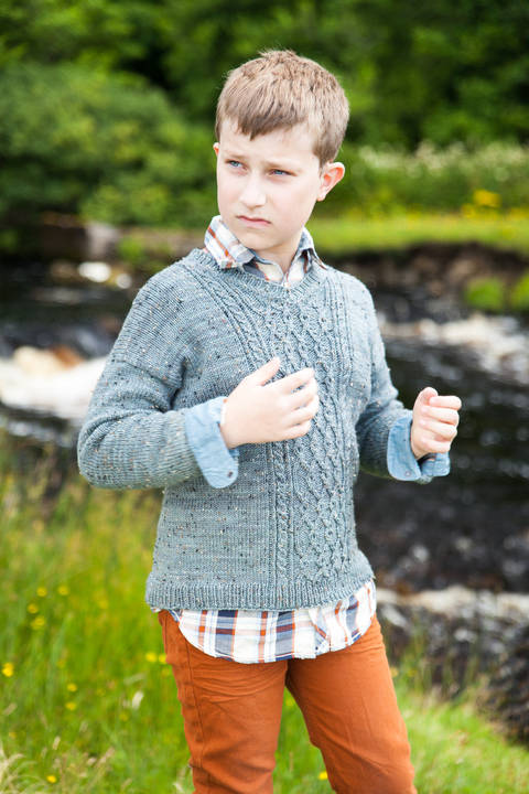 Broadford Children's Jumper - Knitting  at Makerist
