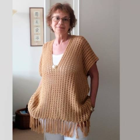Filigree Cover-up / Poncho