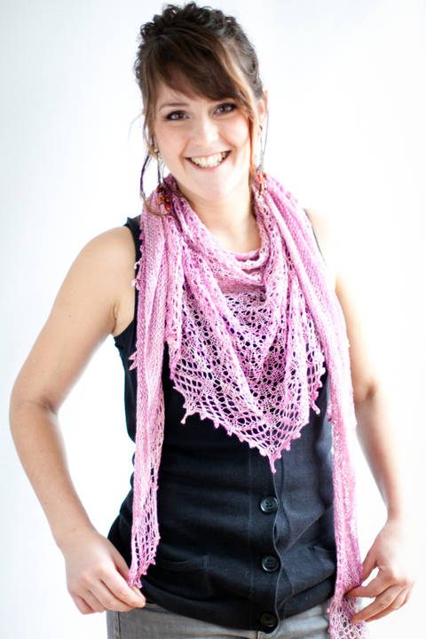 Hizakura Shawl - Knitting at Makerist