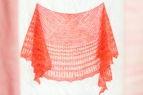 Agrumes Shawl - Knitting  at Makerist
