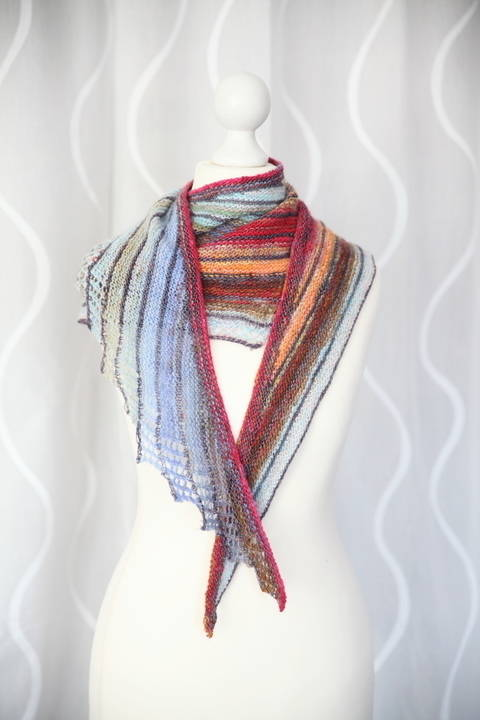 Impulsion Shawl - Knitting