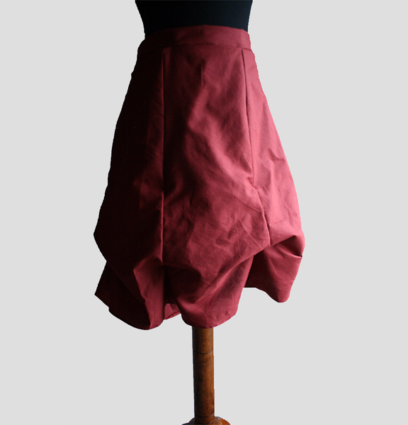 Women's Romantic Skirt - Sewing Pattern