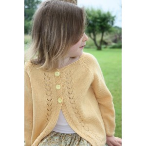 Gilet fille Yuna - 2-10 ans - tricot