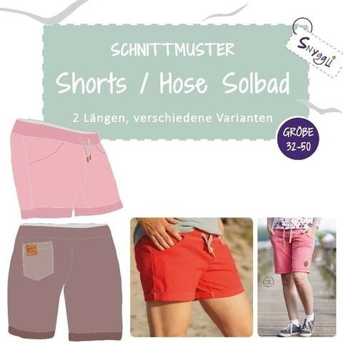 Shorts / Hose Solbad Gr. 32-50 inkl. A0 + A4