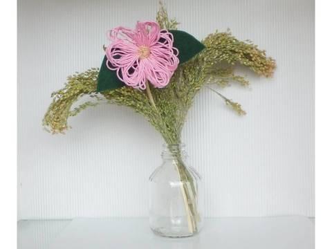 Bastelblume - Blume zum Muttertag