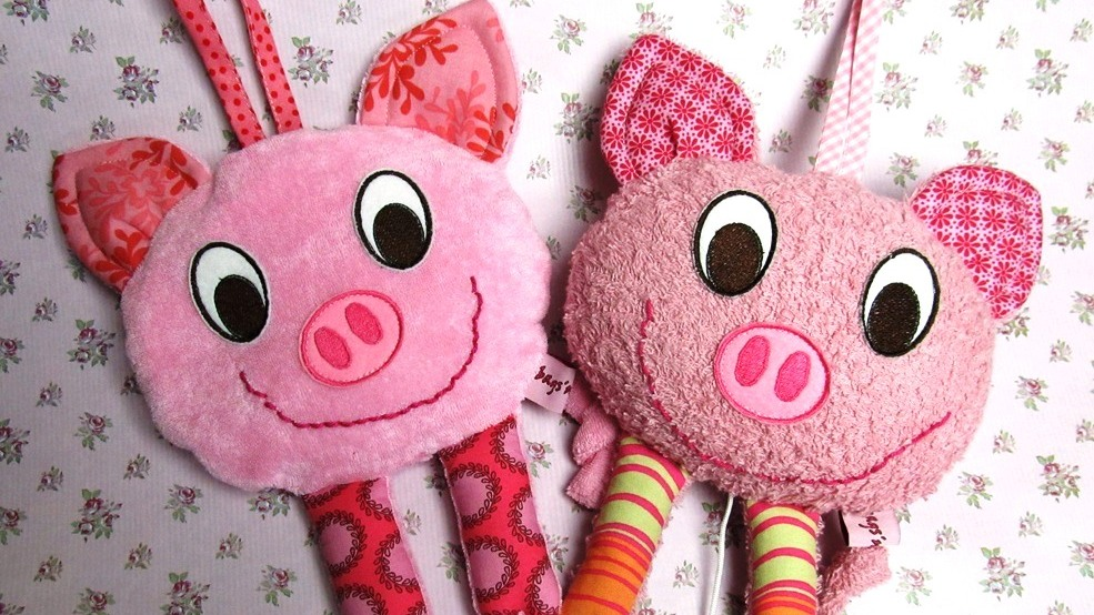 E-Book Spieluhr und Körnerkissen Schwein Privatnutzung