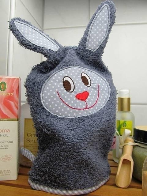 E-Book Waschlappen Hase Privatnutzung bei Makerist