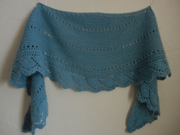 Erakor Shawl - Knitting  at Makerist - Image 1