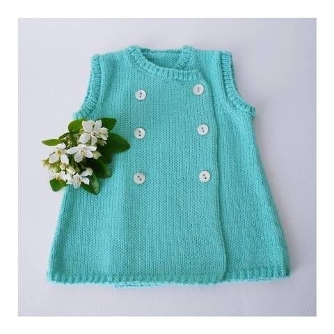 Opal baby dress