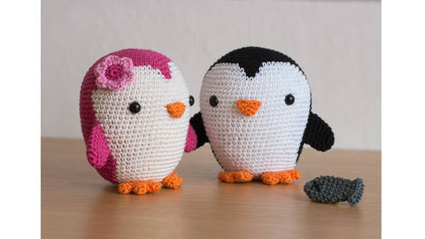 Penguin Amigurumi crochet pattern at Makerist