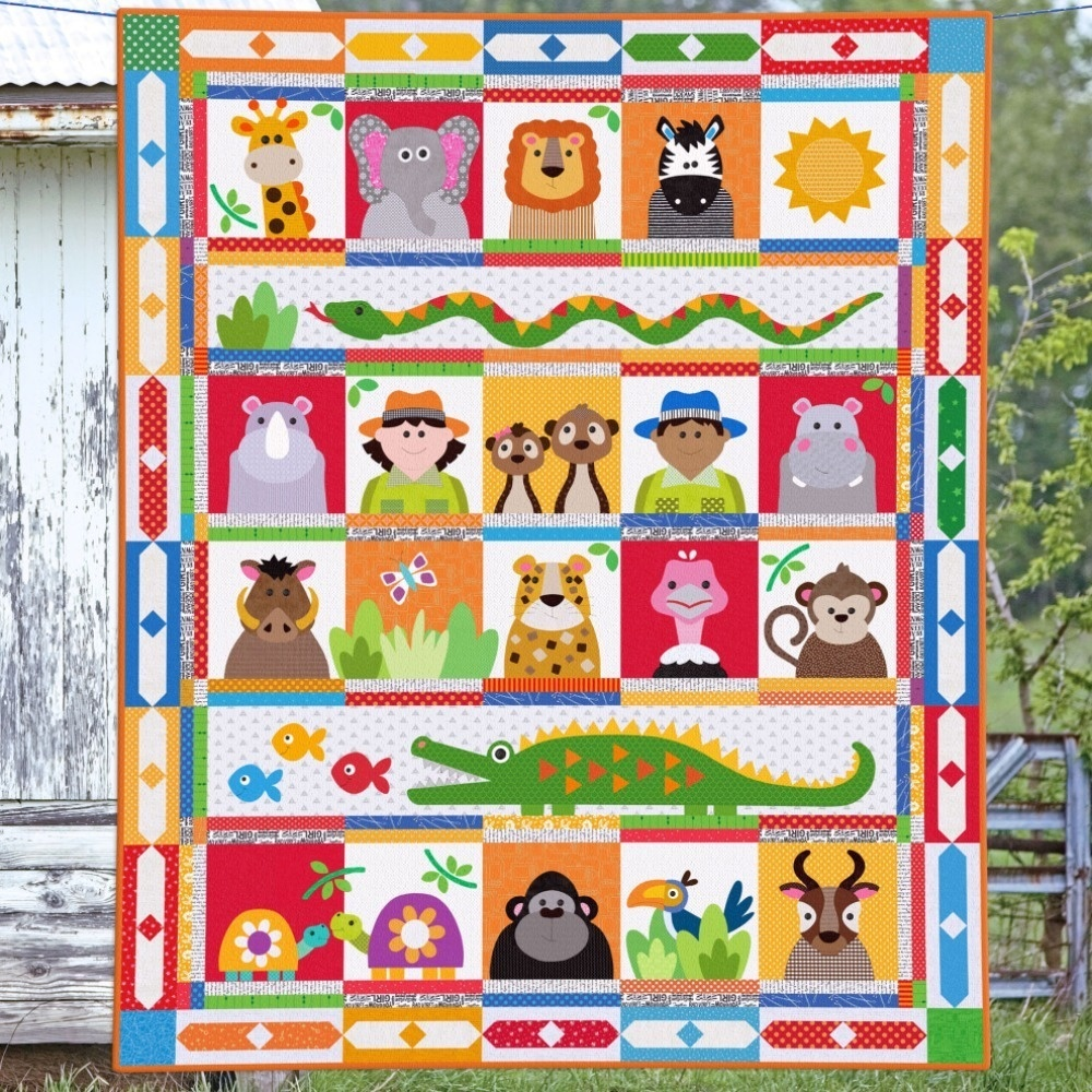 Who's at the Zoo - Quilt Pattern