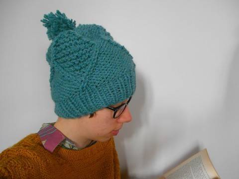 Farigaig Hat - Knitting