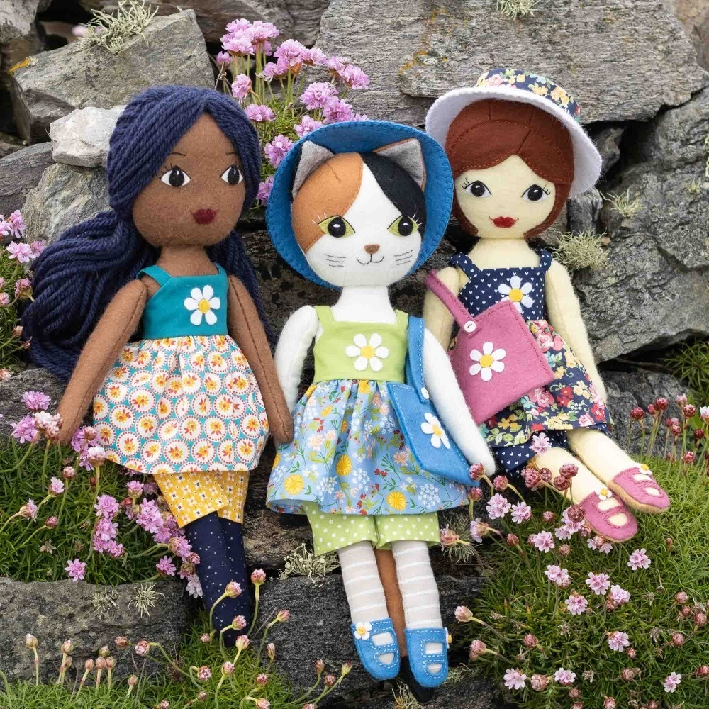 16 inch Doll Clothes, Summer Outfit