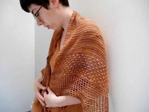 Treboul Shawl - Knitting