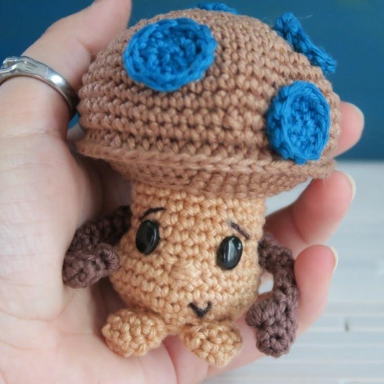 Champipi, le champignon au crochet