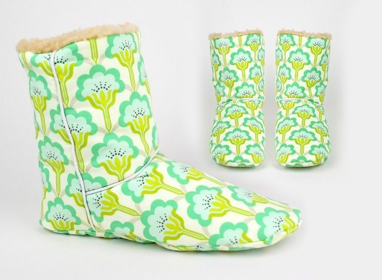 Sewing pattern boots | room shoes at Makerist - Image 1