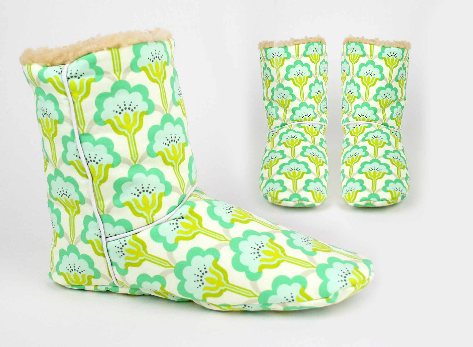 Sewing pattern boots | room shoes