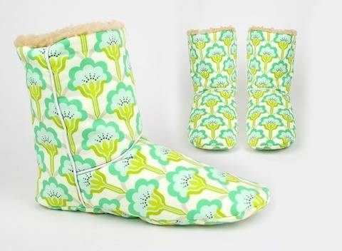 Sewing pattern boots |room shoes