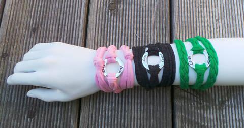 Ebook Wickelarmband MIA 3 Varianten bei Makerist