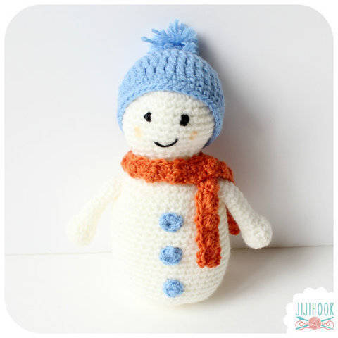 Snowman - Crochet  at Makerist