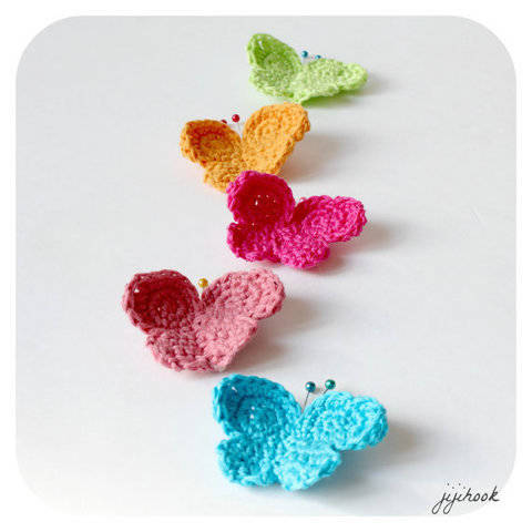 Butterflies - Crochet at Makerist