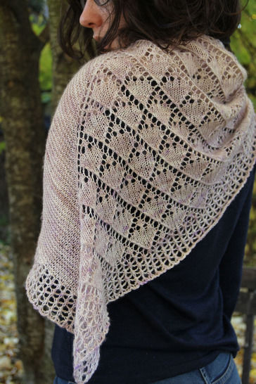 Shawl Lil Doudou - Knitting at Makerist - Image 1