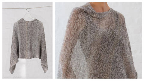 ITO – Poncho 'LET' Strickanleitung bei Makerist