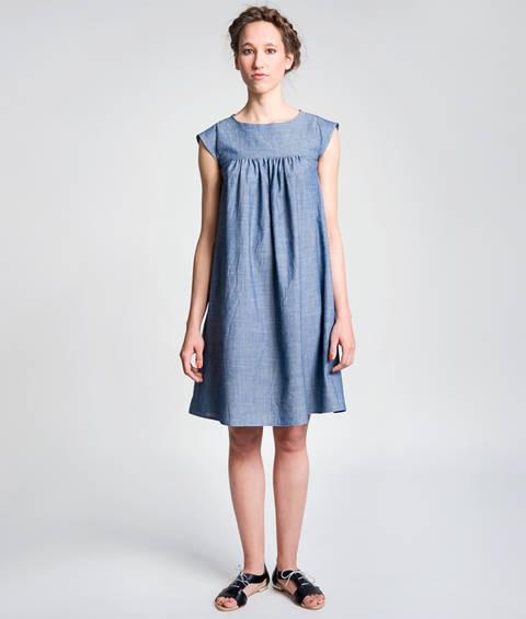 Schnittmuster und Nähanleitung Kleid Hannah