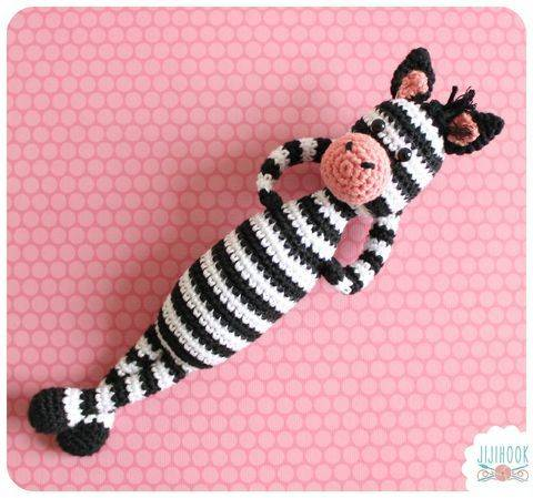 Zebra Crochet Pattern at Makerist