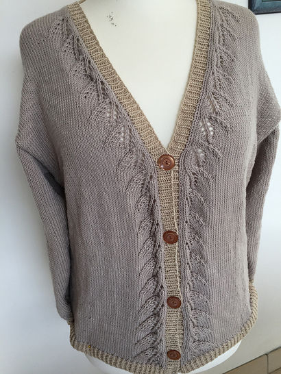 Disoux cardigan at Makerist - Image 1