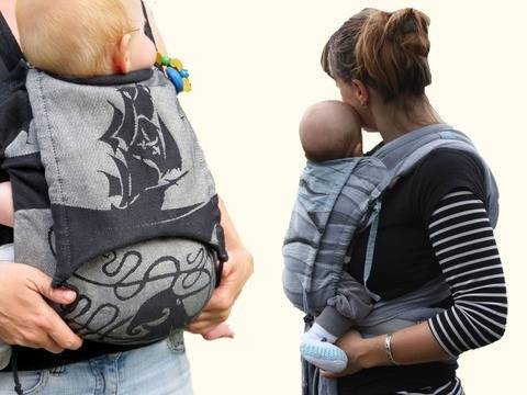 pdf sewing pattern Baby Carrier - AnniNanni Carry with Love