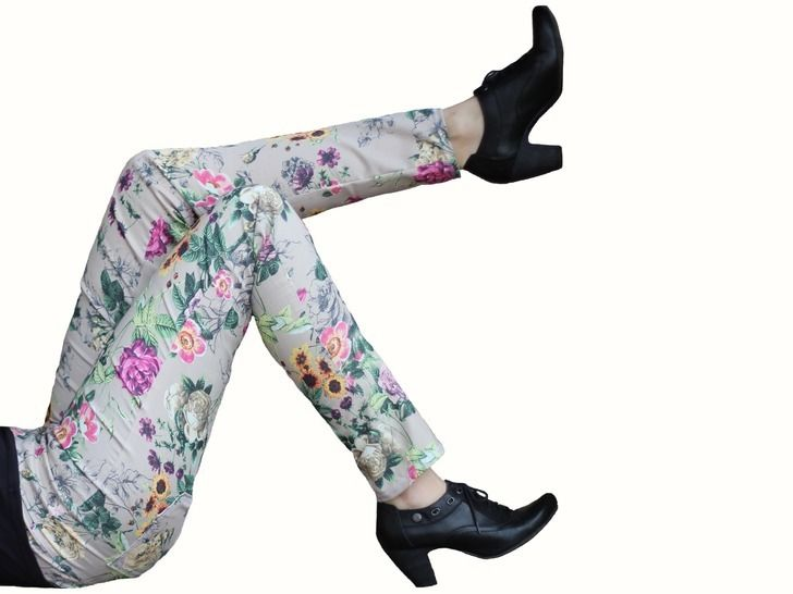 pdf sewing pattern treggings - AnniNanni Treggings - womens trousers at Makerist - Image 1