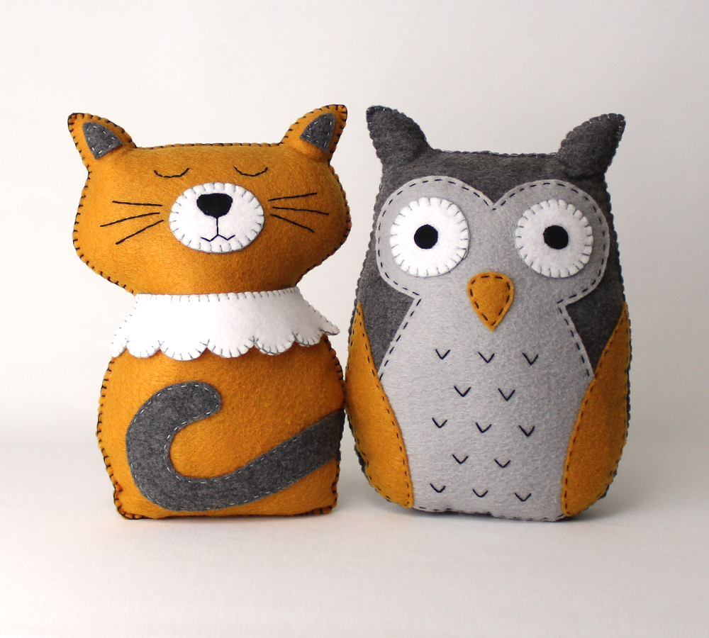 The Owl and the Pussycat Stuffed Toys/Decorations