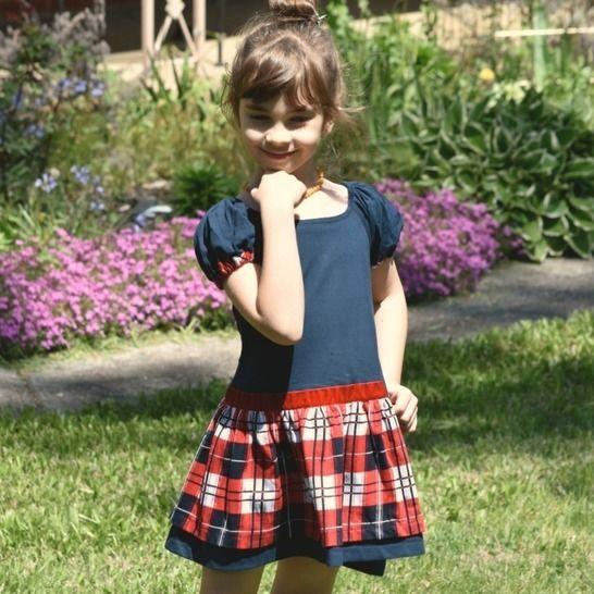 Raglan Kleid | Stretchstoff | Schnittmuster | PDF | Amelie bei Makerist - Bild 1