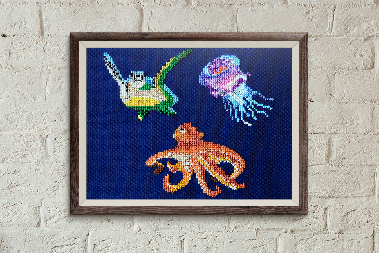 Fish 3 cross stitch pattern