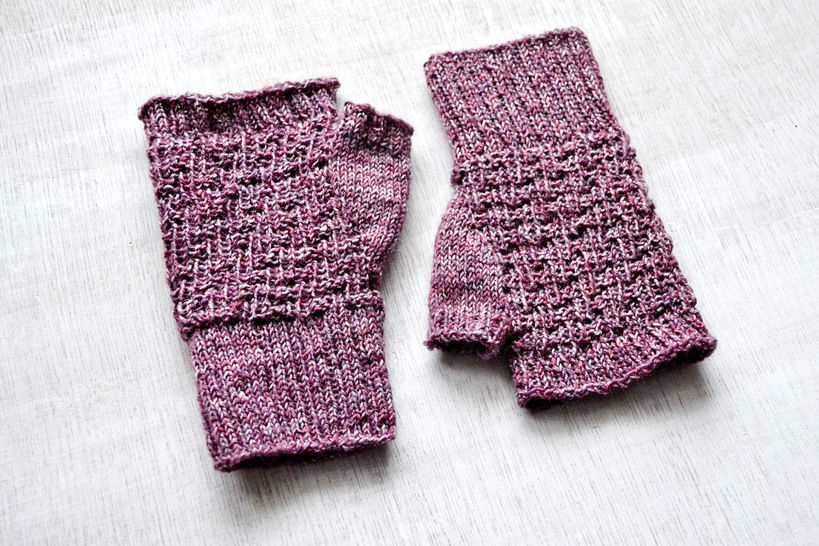 PINA fingerless mitts at Makerist - Image 1