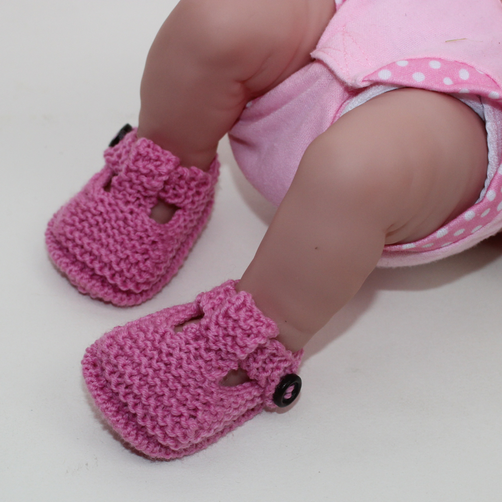 Preemie Tiny and Newborn Baby T Bar Sandals