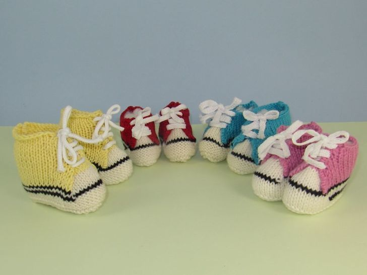 Baby Basketball Boots & Sneakers Booties at Makerist - Image 1