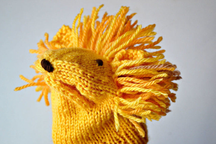 LION handpuppet at Makerist - Image 1