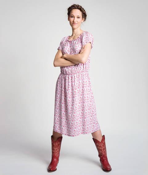 Schnittmuster und Nähanleitung Kleid Jona bei Makerist