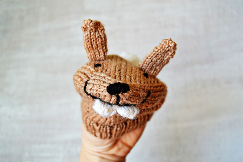 RABBIT handpuppet at Makerist - Image 1