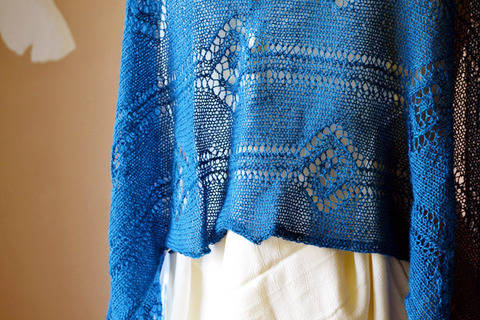 Linked summer lace stole