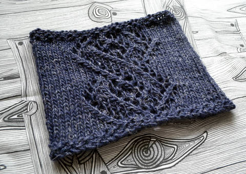 Linked winter cowl