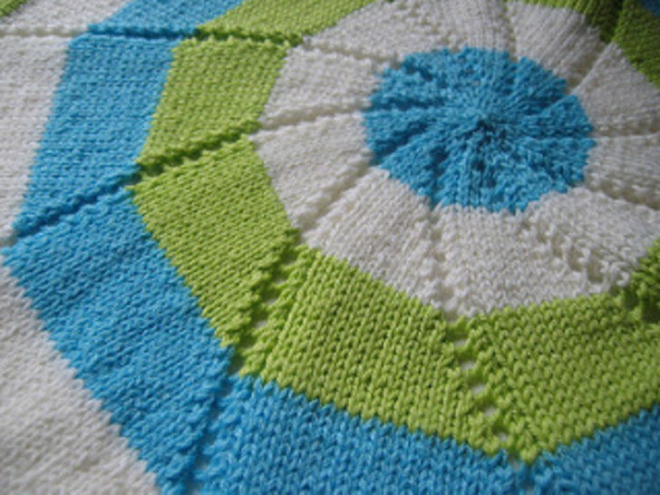 Reverse Pinwheel Blanket - Knitting at Makerist - Image 1