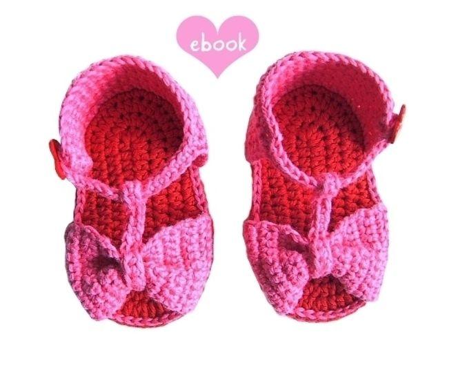❤ Häkelanleitung ❤ Little Heart Sandals bei Makerist - Bild 1