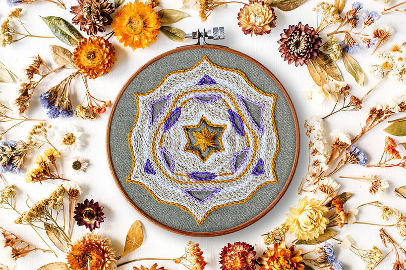 STAR mandala at Makerist - Image 1