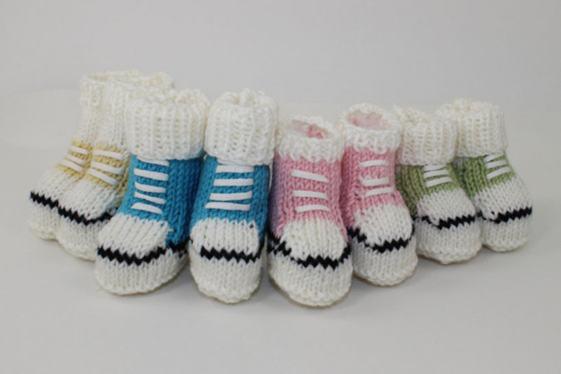 Baby's First Basketball Booties at Makerist - Image 1