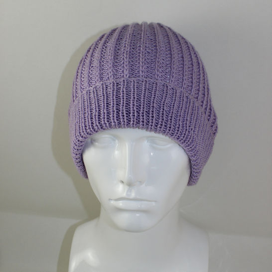 4 Ply Fishermans Rib Unisex Beanie at Makerist - Image 1