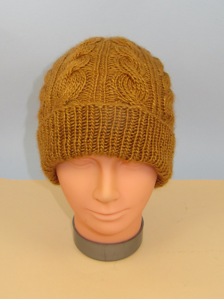 Alternate Twist Cable Beanie Hat
